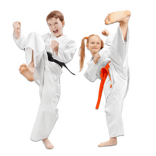 Martial Arts Lessons for Kids in Aurora IL - Kicks High Kicking Together